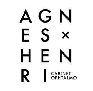Création d'un logo pour un cabinet d'ophtalmologiste - Agnès Henri (@Paris)